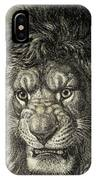 The Lion, King Of Beasts.  From El IPhone Case