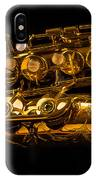 The Lying Sax IPhone Case