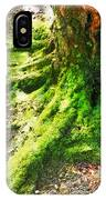 The Moss Covered Roots IPhone Case