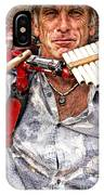 The Music Man IPhone Case