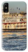 The Natchez Riverboat IPhone Case