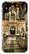 The Nave At St Davids Cathedral 2 IPhone Case