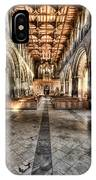 The Nave At St Davids Cathedral 3 IPhone Case