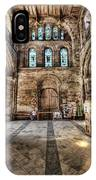 The Nave At St Davids Cathedral 5 IPhone Case