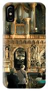 The Nave At St Davids Cathedral IPhone Case