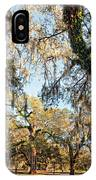 The Oaks Of City Park IPhone Case