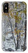 The October Blizzard Begins IPhone Case