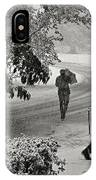 The  October Snow IPhone Case