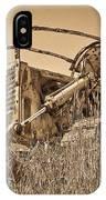 The Old Bulldozer IPhone Case
