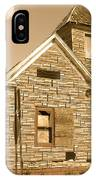 The Old Church At Shellpile  IPhone Case