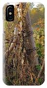 The Old Fence Post IPhone Case