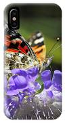 The Painted Lady Butterfly  IPhone Case