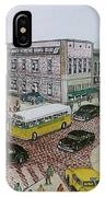 The Portsmouth Ohio Post Office On The Esplanade 1948 IPhone Case
