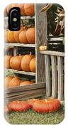 The Pumpkin Shack At Isom's Orchard IPhone Case
