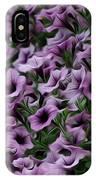 The Purple Sea IPhone Case