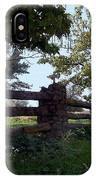 The Rail Fence IPhone Case