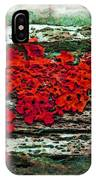 The Red Clouds IPhone Case