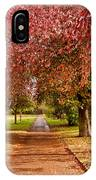 The Red Path IPhone Case