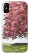 The Red Tree IPhone Case