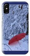 The Red Umbrella IPhone Case