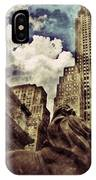 The Resting Lion - Nyc IPhone Case