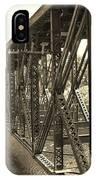 The Retired Railroad Bridge IPhone Case