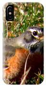 The Robin Stare IPhone Case