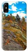 The Rocks Above Eagle Bay IPhone Case