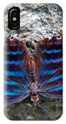 The Royal Blue Butterfly IPhone Case