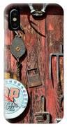 The Rusty Barn - Farm Art IPhone Case