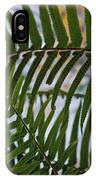The Shade Of A Fern IPhone Case
