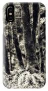 The Silent Woods IPhone Case