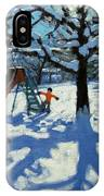 The Slide In Winter IPhone Case