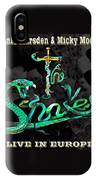 The Snakes Live In Europe IPhone Case