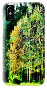 The Speckled Trees IPhone Case