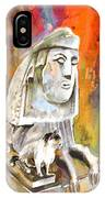 The Sphinx Of Petraion IPhone Case