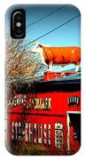 The Steakhouse On Route 66 IPhone Case