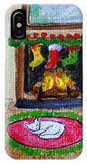 The Stockings Were Hung IPhone Case