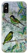 The Time Of Singing Birds IPhone Case