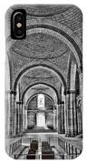 The Tombs At Fontevraud Abbey   France IPhone Case