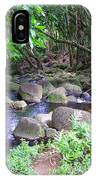 The Trail By The Creek IPhone Case