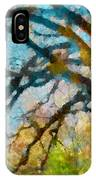 The Tree Of Many Colours  IPhone Case