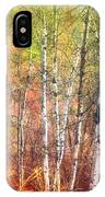 The Trees And The Colour IPhone Case