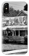 The Trolley Car Diner - Chestnut Hill Philadelphia IPhone Case