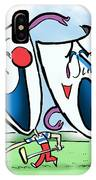 The Two Faces Of Golf IPhone Case