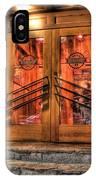 The Union Woodshop Clarkston Mi IPhone Case