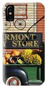 The Vermont Country Store IPhone Case