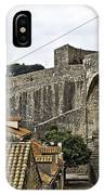 The Wall In Dubrovnik IPhone Case