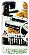 The Wheels Of War Keep On Turning IPhone Case