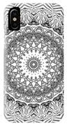 The White Mandala No. 2 IPhone Case